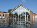 ArtSpa heated outdoor swimming pool Lower Mill Estate