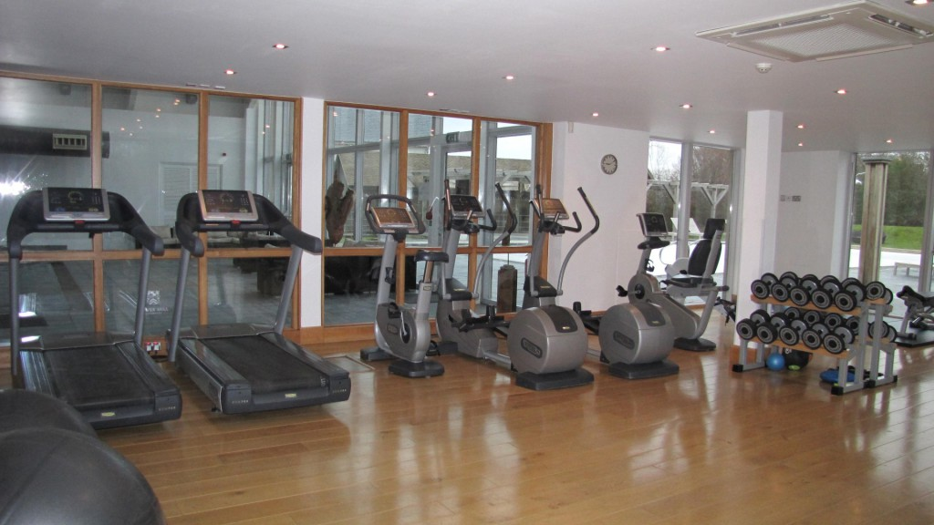 Gym at ArtSpa Cotswolds Lower Mill Estate
