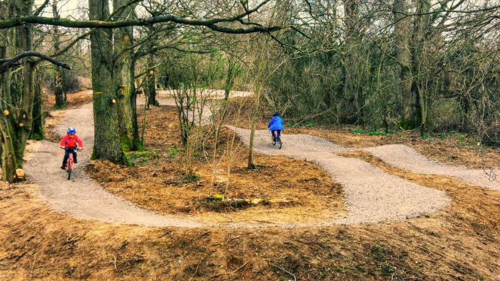 Lower Mill Estate Cycle Track 1