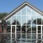 ArtSpa heated outdoor swimming pool Cotswolds self catering