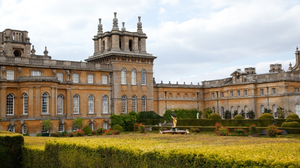 Blenheim Palace From The Rear