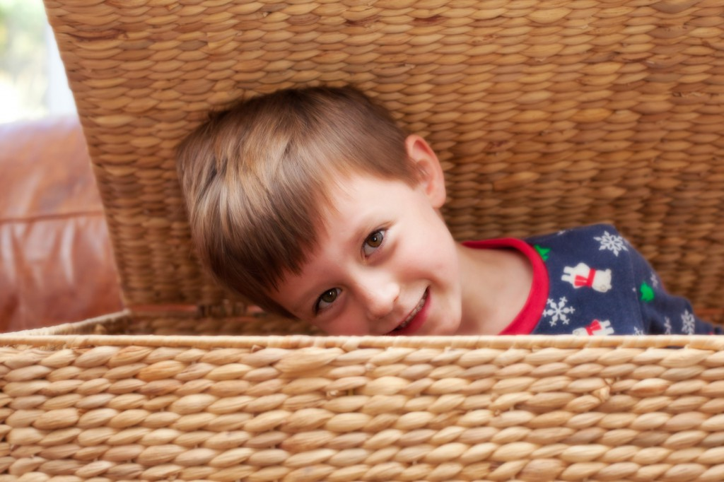 Child Hiding Hide and Seek