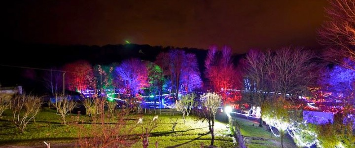 One of the best places to see Christmas lights in the UK