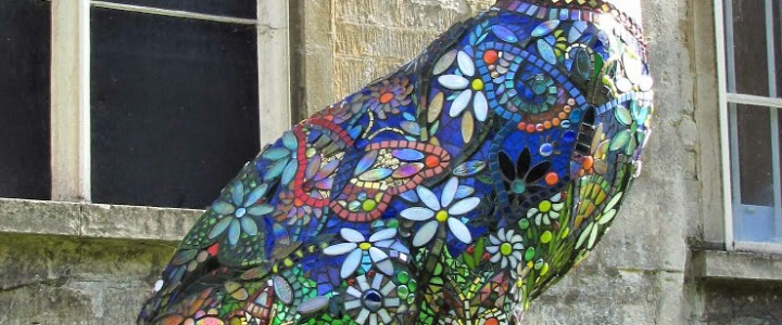 Giant Hares invade Cirencester