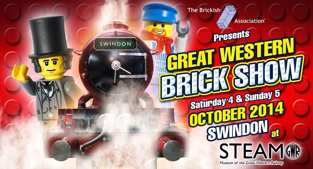 Lego and Steam Trains – what could be better?