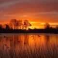 Sunrise at Cotswold Family Holidays