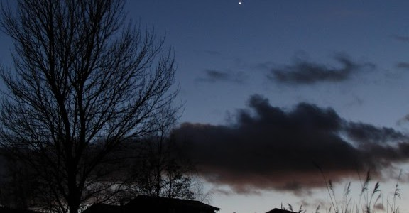 Conjunction of Mars and Venus