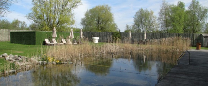 Eco Pool at the Spa, Lower Mill Estate, Cotswold Water Park