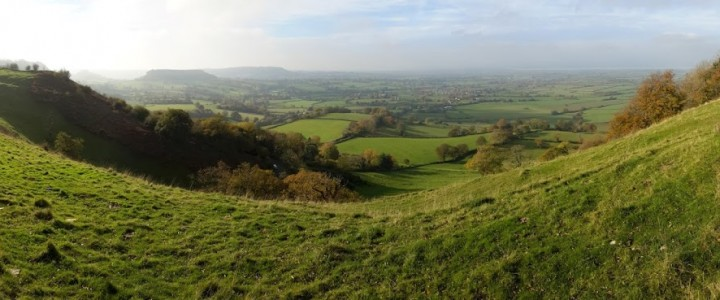 Coaley Peak Viewpoint, Gloucestershire