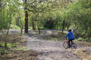 Bike Track Lower Mill Estate