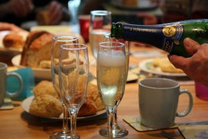 Champagne Cream Tea