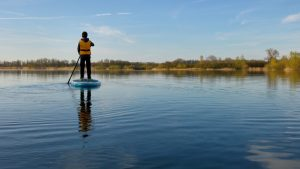 Paddle board Lower Mill Estate