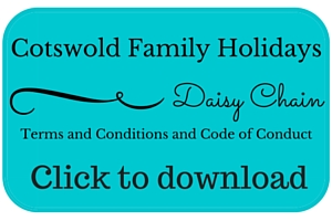 Daisy Chain Terms and Conditions button