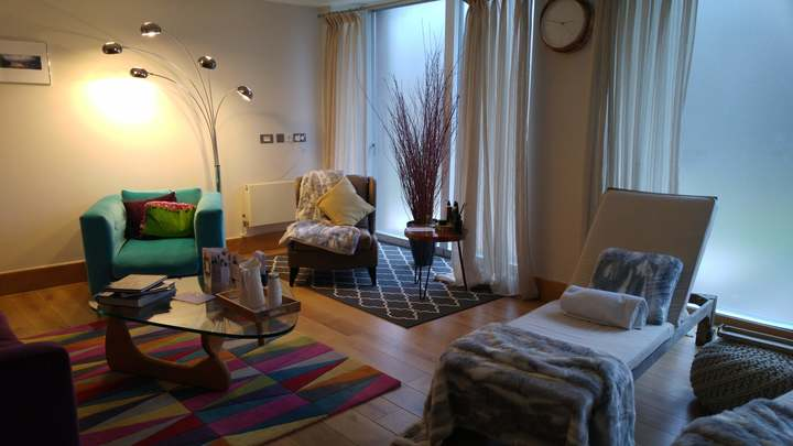 Lower Mill Estate Relaxation Room